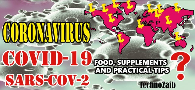 The Coronavirus food, supplements and practical tips