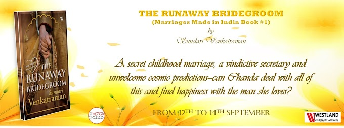 Book Blitz: The Runaway Bridegroom by Sundari Venkatraman
