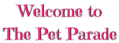Spring Pet Parade Text Banner ©BionicBasil®
