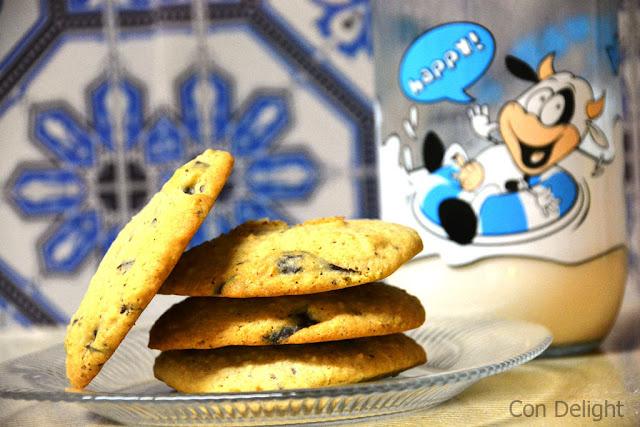 עוגיות שוקולד צ'יפס מקמח כוסמין Chocolate chips cookies spelt flour