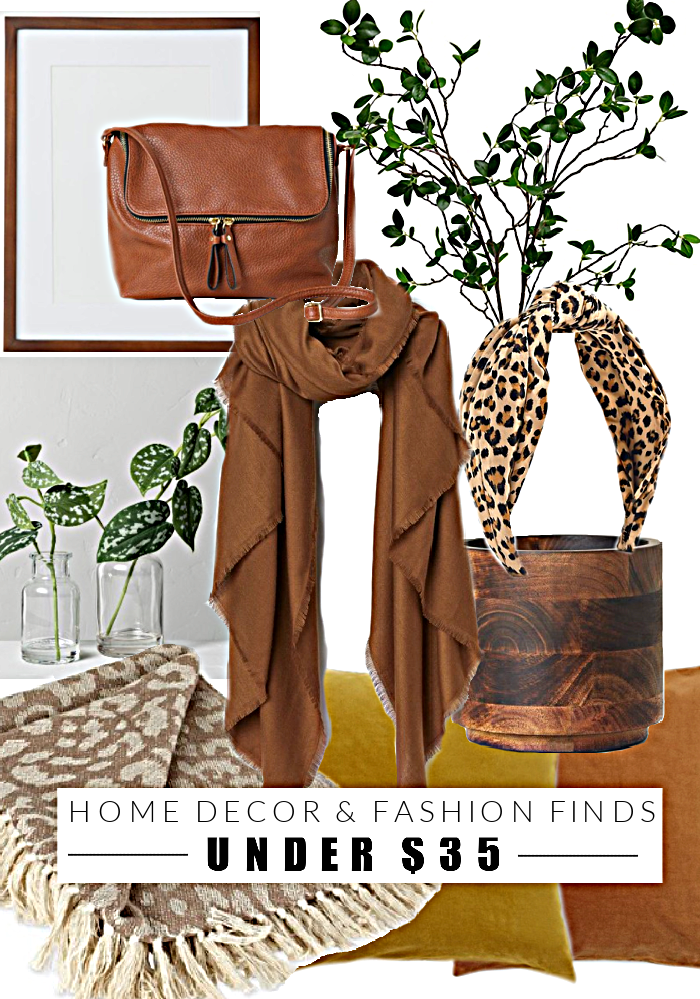 Home decor and fashion finds under $35