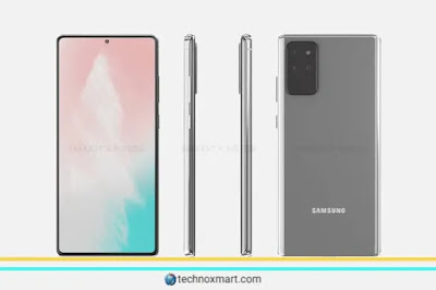 Samsung Galaxy Note 20, Samsung Galaxy Z Flip 5G Color Choices Leaks Online