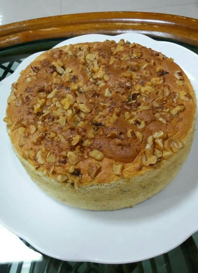 Resep Cake Pisang Walnut