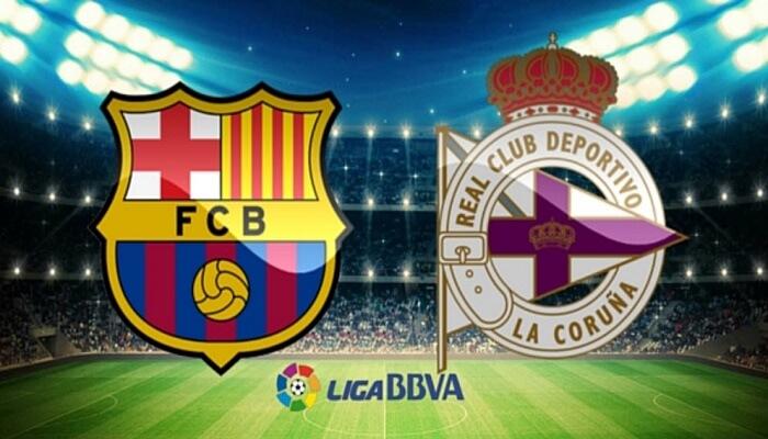 Ver Barcelona vs Deportivo La Coruña En Vivo