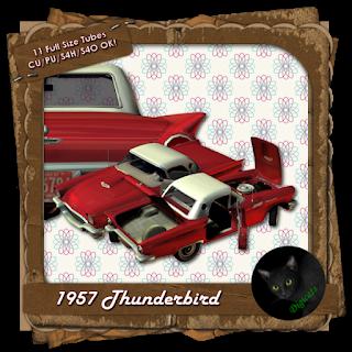 1957 Thunderbird - Red