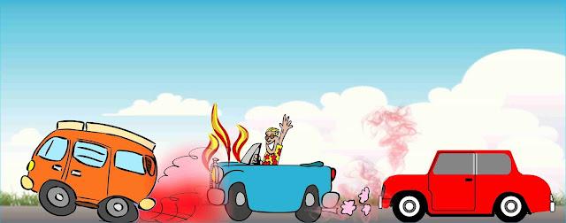 car, overheating, trafic jam
