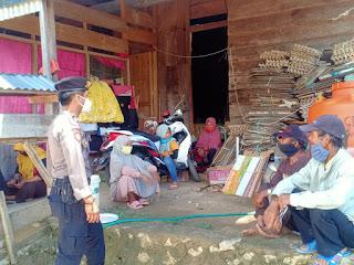 Himbauan Dan Edukasi Kepada Masyarakat Oleh Bhabinkamtibmas Polsek Malua Polres Enrekang