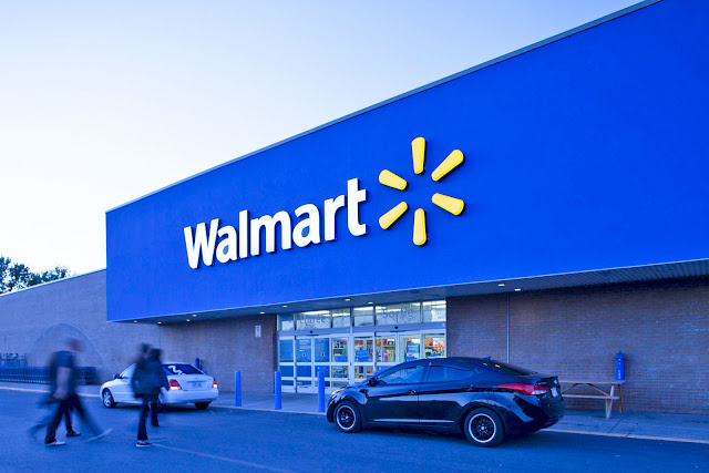 Walmart store is An Amazon Competitor
