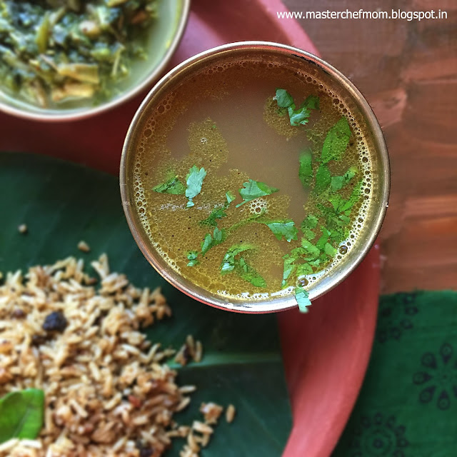 Inji Rasam | Ginger Rasam Recipe