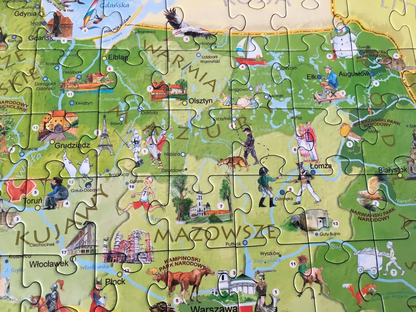 puzzle z polską