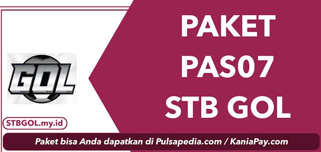 Paket PAS07: Harga, Channel, dan Cara Pembelian
