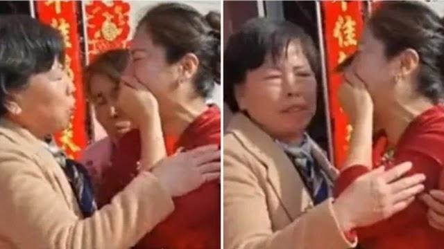 Noiva descobre que é filha de sua sogra durante o casamento