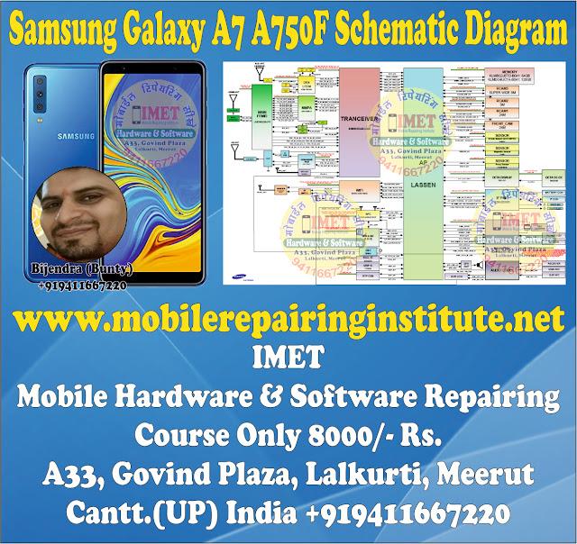 Samsung Galaxy A7 A750F Schematic Diagram – Service Manual Download