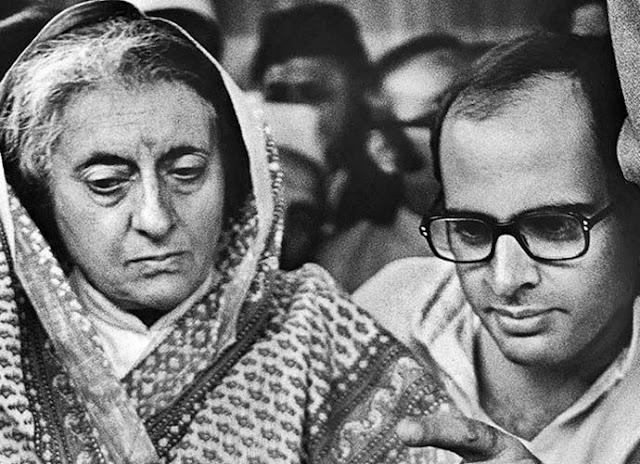 Indira Gandhi Sanjay Gandhi ఇందిరా గాంధీ, సంజయ్ గాంధీ