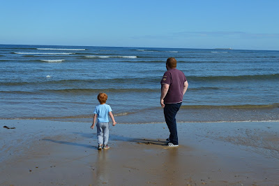 Alnmouth beach, Northumberland. North East Family Fun Review