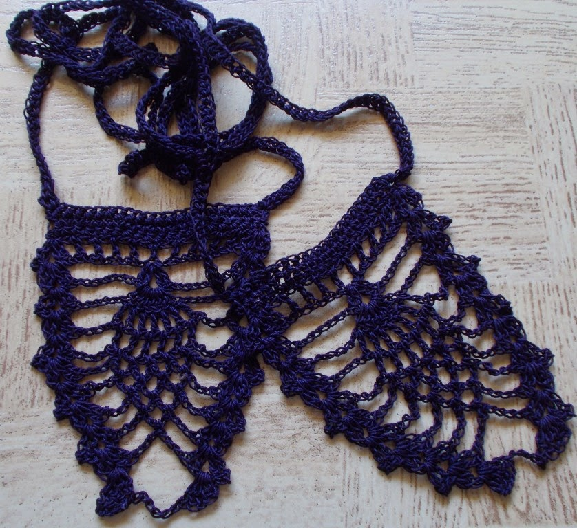 free crochet foot thong pattern
