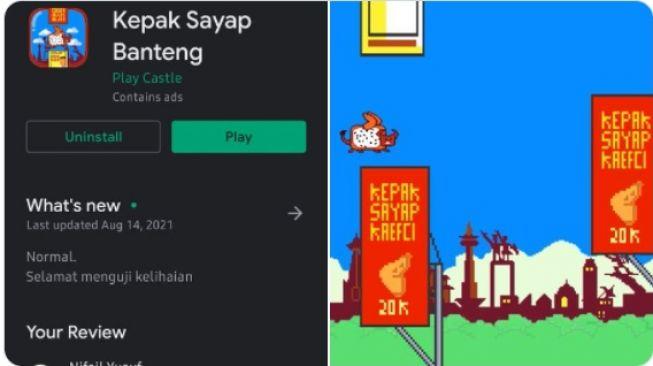 Lihat Nih! Ada Game Baru di Google Play Namanya 'Kepak Sayap Banteng', Review Masyarakat Bikin Ngakak