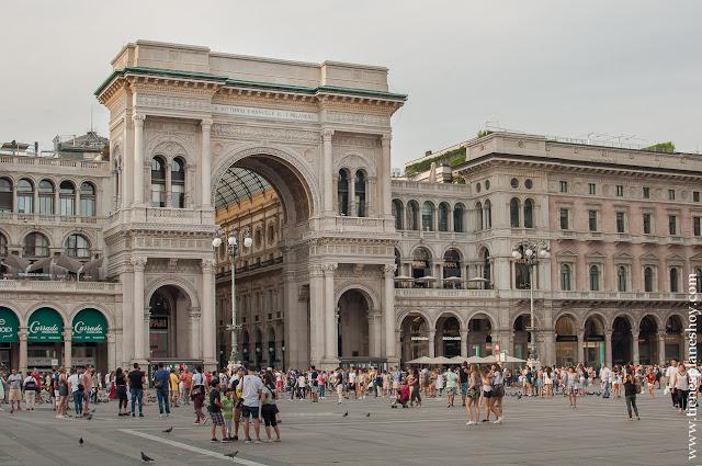 Galerias Victor Enmanuelle II MIlan visita Italia