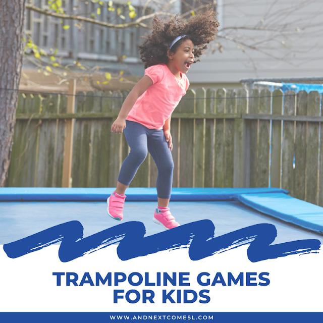 Fun trampoline games for kids & teens
