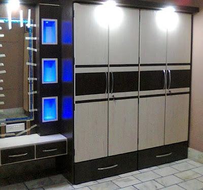 modern bedroom cupboard design ideas - wooden wardrobe interior designs 2020