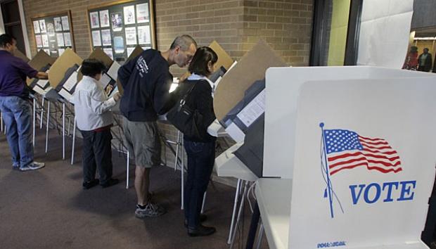 Warga Amerika Antusias Ikuti Pemilu Paruh Waktu