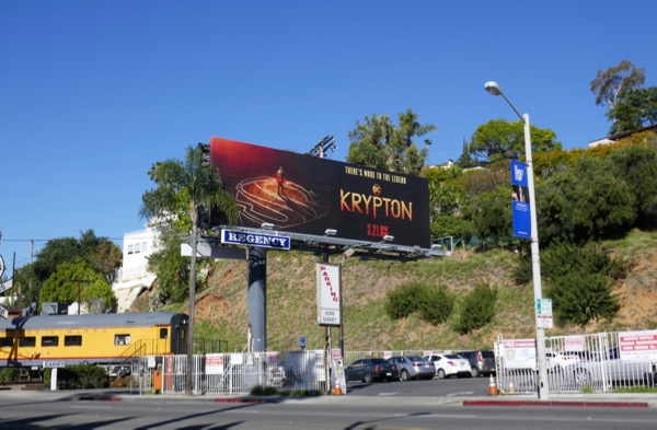 Krypton series launch billboard