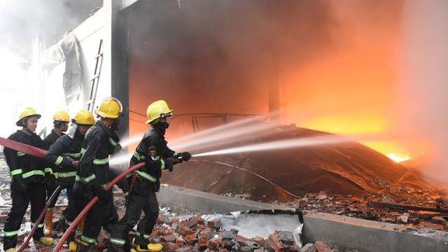 Pabrik Cina di Myanmar Kembali Dibakar, Aparat Tembak Mati Tujuh Demonstran