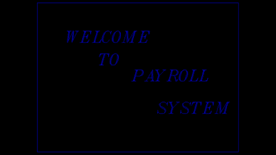Payroll Management system project