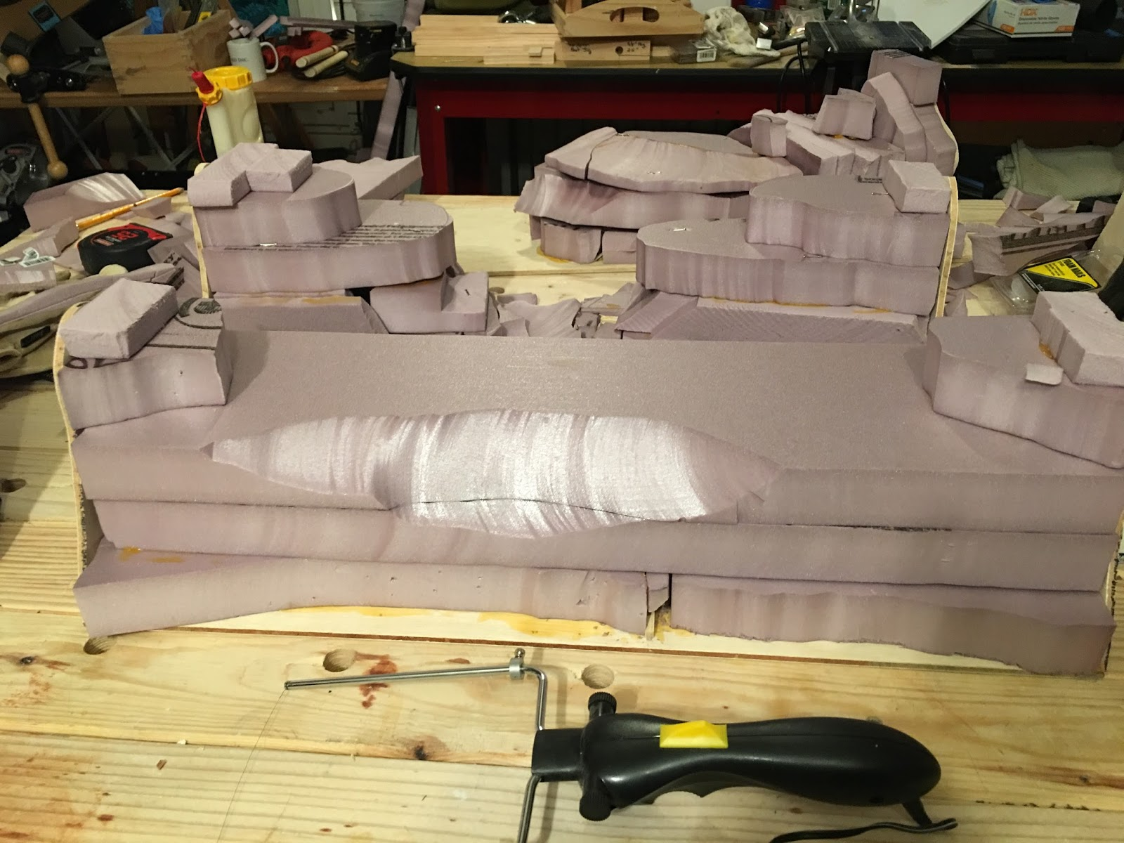 Lair of the uber geek: terrain tutorial: sectional mountains part 3