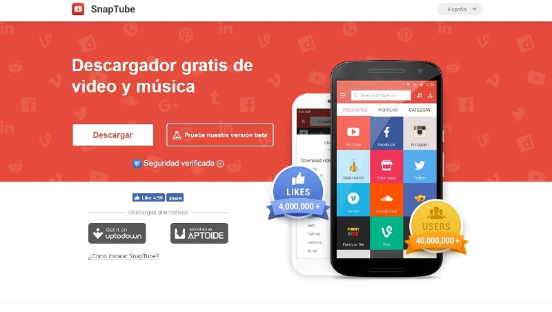 descargar musica y videos para android