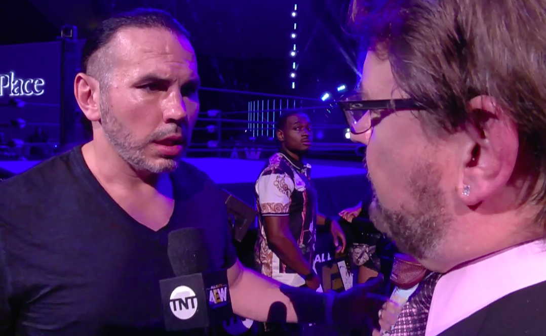 Matt Hardy on AEW Dynamite