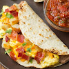 Breakfast Tacos with Fire Roasted Tomato Salsa