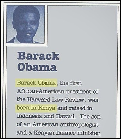 Image result for the obama birther controversy
