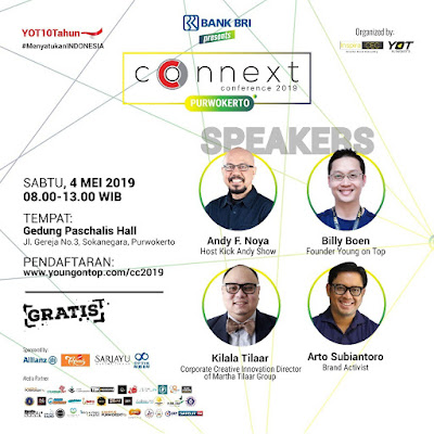connext conference purwokerto young on top