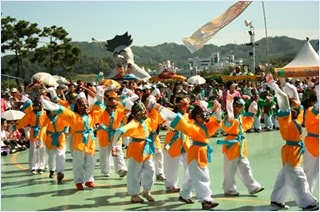 เทศกาลหน้ากากอันดง (Andong Mask Dance Festival)