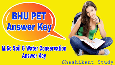 BHU-M.Sc-Soil-Water-Conservation-Answer-Key