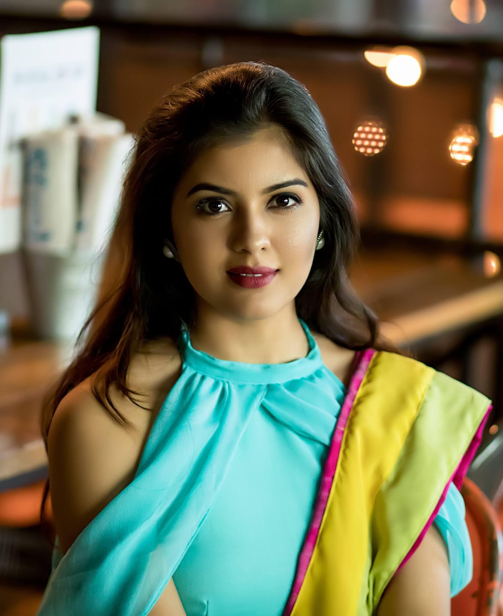 Actress Amritha Aiyer Latest Pics