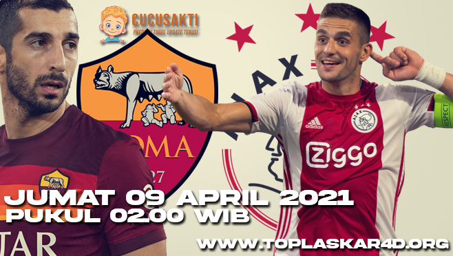 Prediksi Bola Ajax Amsterdam vs AS Roma Jumat 09 April 2021