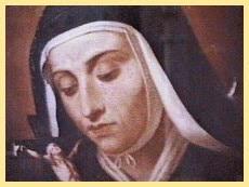 Ana maria galo, Santa Maria Fransiska dari Lima Luka Yesus