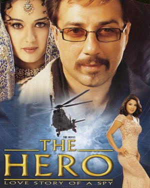 The Hero  2003 Watch full hindi movie sunny deol,Preety Zinta