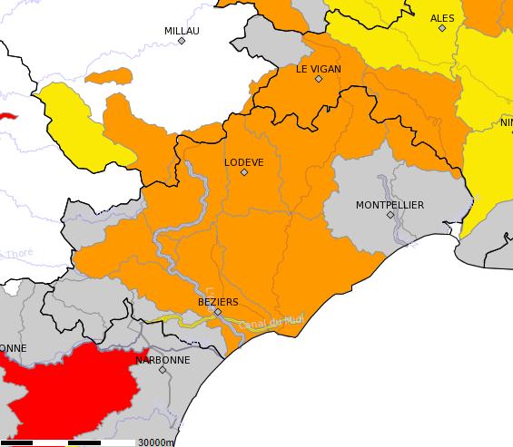Inquiétante sécheresse dans l'Hérault, quand va-t-il pleuvoir?
