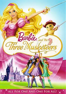 Barbie si cei trei muschetari dublat in romana