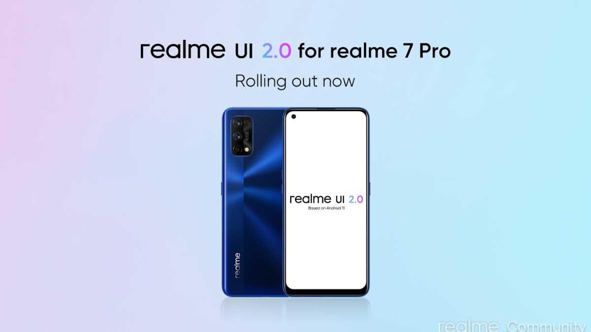 تحديث لأجهزة Realme 6 Pro و 7 Pro إلى الأندرويد 11