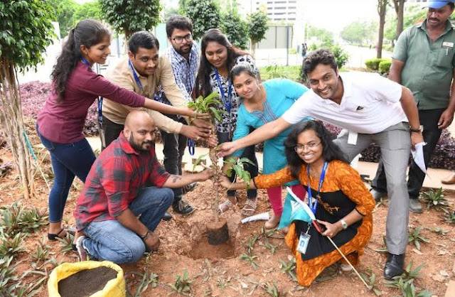 Embassy Office Parks continues ESG initiatives on World Environment Day across all its commercial parks
