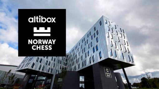 Altibox Norway Chess 2021 avec Magnus Carlsen - Photo © Norway Chess