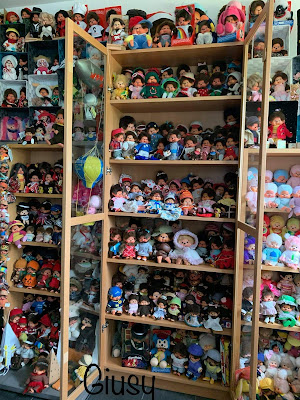 kiki Monchhichi collection vintage rare