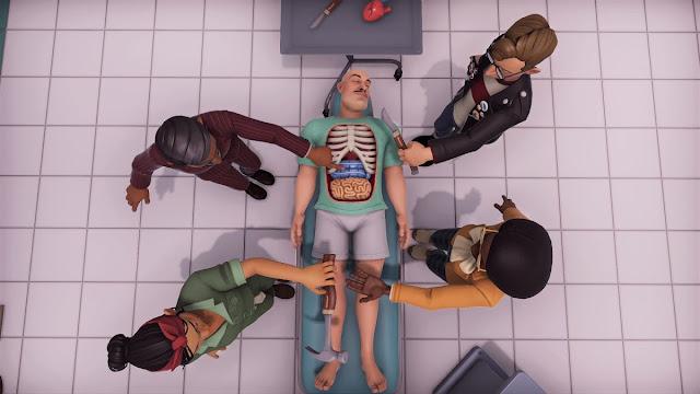 Surgeon Simulator 2 scene 2