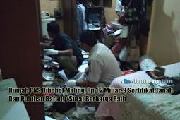 Rumah PNS Dibobol Maling, Rp 1,2 Miliar-9 Sertifikat Tanah Dan Puluhan Barang/Surat Berharga Raib