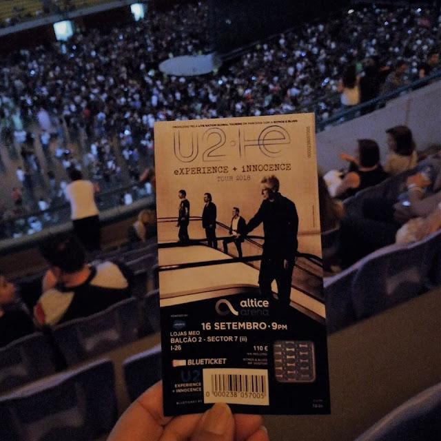 Concerto U2 Altice Arena