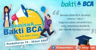 Beasiswa Bakti BCA